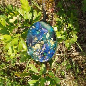 Ovale bleue