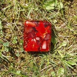 Plaquette rouge